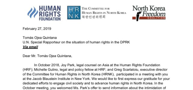 Joint Letter to UN Special Rapporteur: Defend the Free Speech of